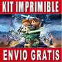 Kit Imprimible Lego Star Wars Diseña Invitaciones Y Tarjetas