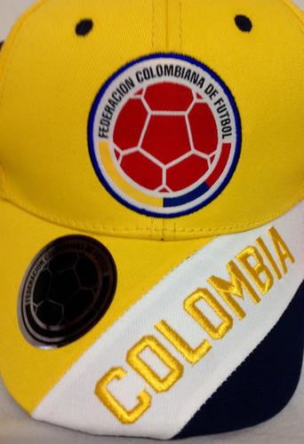 Gorra Selección Colombia De Fútbol Licenciadas De Lujo 392aa342785