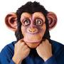 Mascara De Mono Mico Chimpance En Latex Respiras, Ves, Oyes