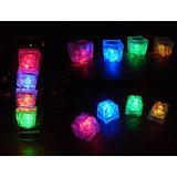 Cubo Led Hielo Luminoso Decorativo Fiestas Eventos 15 Años 2