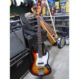 Bajo Electrico Texas Tipo Jazz Bass Adk-e81 4 Cuerdas