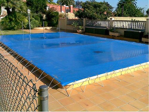 Cobertores invierno piscinas rectangular 10 x 5 mts for Cobertores para piscinas precios
