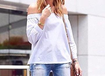 Blusas para mujer Limonni LI877 Campesinas