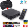 Smart Box Tv. Miracast, Airplay. Teclado, Android. 8gb. 4x