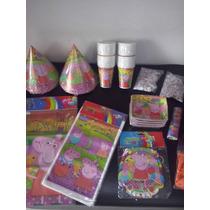 Kit Decoracion Fiestas Infantiles Piñata Reuniones Peppa Pig