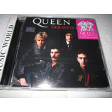 Queen Cd- Greatest Hits -press Argentina-nuevo Sellado