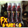 Sangre Artificial Con Latex - Fx Studioshalloween