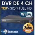 Cctv Dvr Para 4 Camaras Truvision No Ip Hd, Garantia 3 Años