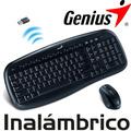Genius Combo Teclado Mouse Inalambrico Usb Kb-8000