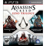 Assassins Creed Trilogy Ezio Playstation 3 Nuevo Original