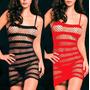 Vestido Malla Erotica Sexy Talla Unica Entre Xs/ M Importada