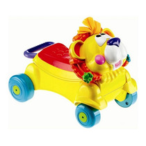 Andadera Leon Caminador 2 En 1 Y Carro Montable Ref. 63509