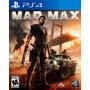 Mad Max Ps4 Day One Nuevo Domicilio Esp - Jxr