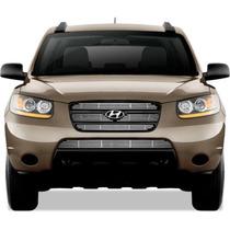 Parrilla O Persiana Hyundai Santafe En Cromo Acerado 2007a09