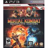 Mortal Kombat Ps3  Komplete Version Completa Mk9 Ps3
