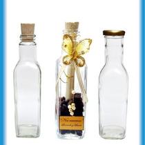 Docena Botella Vidrio Recordatorio Regalo Souvenir Envase