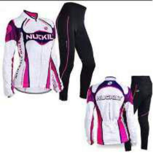 Uniforme Termico De Ciclismo Para Mujer d8ba4ab8a4734