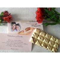 Recordatorio + Invitación Matrimonio Exclusivo