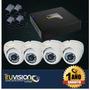 Cctv Kit Video Vigilancia Dvr 4 Ch + 4 Cámaras De Seguridad