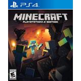 Minecraft Para Ps4 Español Nuevo Sellado Fisico