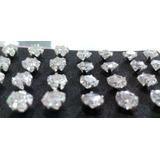 Aretes En Diamantes Para Hombre Plata 925.diamante Sintetico
