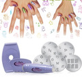 ¡ Kit Salon Express Pra Estampado Decoración D Uñas Stamp !!