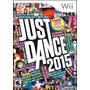 Juego Just Dance 2015, Nuevo, Original Wii