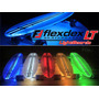 Patineta Longboard Luces Led Flexdex
