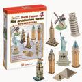 Rompecabezas3d, Mini Arquitecturas Serie 4