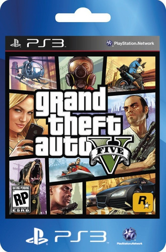 Gta 5 Ps3 Grand Theft Auto 5 Ps3  Completo Original Ps3