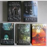 Saga Juego De Tronos 5 Tomos - George Martin