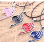 Collar Fairy Tail Anime- Ultimos Disponibles  Negro- Japones