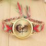 Reloj Diseños Muy Exclusivos De Mico Hecho A Mano El Tejido
