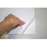 Papel  Sticker Adhesivo Brillante De135 Gr. X 50 Hojas