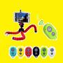 Tripode Octopus Flexible Soporte Celular Camara + Obturador