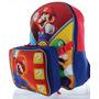 Lonchera Y Bolso Nintendo Super Mario Envío Gratis