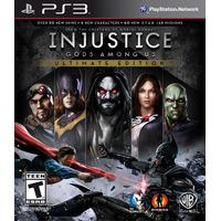 Injustice Gods Among Us Ultimate Edition Ps3 Digital - Jxr