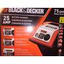 Cargador De Bateria Carro 25amp 12v Arrancador 75amp Black