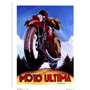 Poster (15 X 20 Cm) Moto Ultima Chris Flanagan