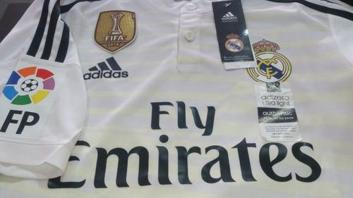 Camiseta Real Madrid 2014 2015 Liga Adizero Original 35% Dto c54f6c0dfab54
