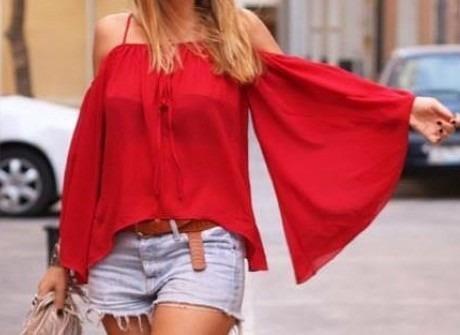 Blusas para mujer Limonni LI895 Casuales