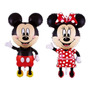 Hermosos Globos Metalizados Mickey Y Minnie 1.10 X 64 Cms