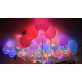 Luz De Colores Led Bombas Decoración Fiestas Neón 15 Años 2