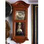 Reloj De Pared Péndulo Elegante Antiguo Cuerda 30 Dias