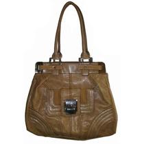 Bolso Guess Lara Tote Handbag, Large, Camel Femenino
