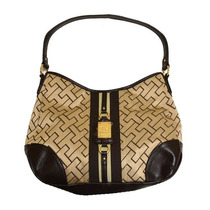 Bolso Tommy Hilfiger Purse Hobo Tan Femenino