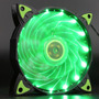 Ventilador Iceberg 120mm 15 Leds Color Verde O Rojo