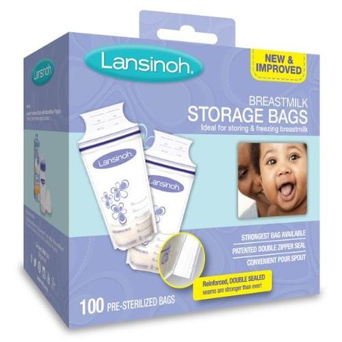 Bolsas Para Leche Materna Lansinoh X100 (6 Oz)