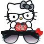 Gafas De Sol Hello Kitty Geek Marco Gato Lente Oscuro