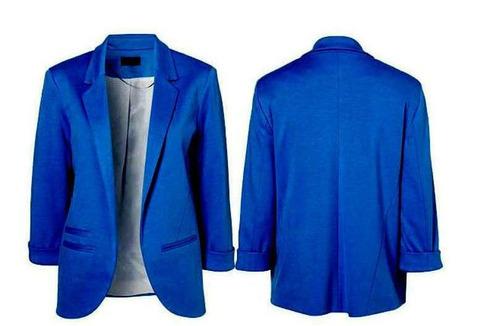 Blazer chaqueta candy colors manga todos por relevancia 1 for Chaqueta tres cuartos